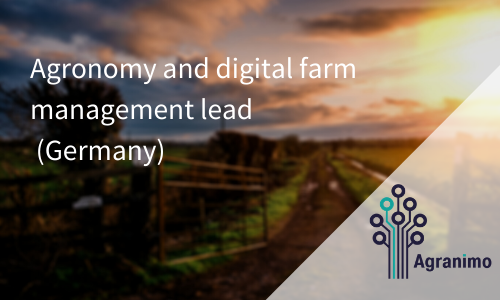 Agronomy And Digital Farm Management Lead (Germany)