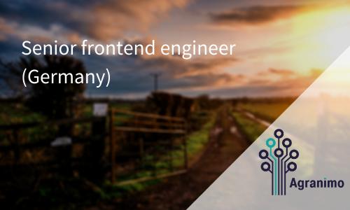 Senior Frontend Engineer (Germany)